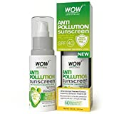 WOW Anti Pollution SPF40 Water Resistant No Parabens & Mineral Oil Sunscreen Lotion, 100mL Amazon Deal