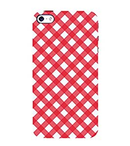 99Sublimation Animated Pattern OF houndstooth 3D Hard Polycarbonate Back Case Cover for Apple iPhone 5S
