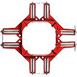 YOUTUMALL abrazadera de ángulo recto 90Degree para madera de trabajo o arreglo de acuario (4unidades)
