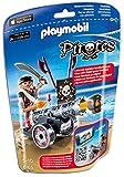 PLAYMOBIL 6165 - Schwarze App-Kanone mit Seeräuber