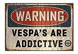 Oily Rag Kleidung Vespa sind Süchtig machende Zeichen