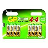 GP Batteries Super Pack de 8 Piles Mignon AA/LR06/1,5 V
