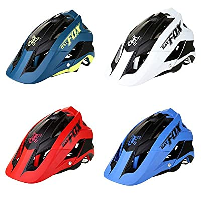 Cycle Bike Helmet for Women Men,BATFOX Bicycle Cycling Mountain & Road Bicycle Helmets Adjustable Adult Safety Protection & Breathable Outdoor Sport Professional Bicycle Helmet from Gereton