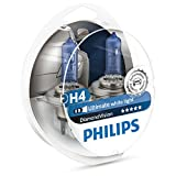 BOMBILLAS MEJORA FARO PHILIPS DIAMOND VISION H4 5000k