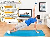 POWRX Gymnastikmatte 190 x 60 cm - 7