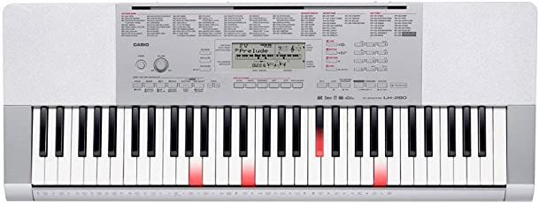 Casio LK-280 Key-Lighting Tastiera, 61 Tasti