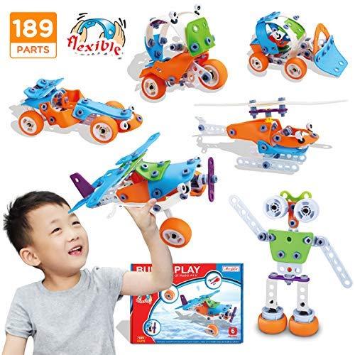 Merryxgift Stem Toys, 137 Piezas de Bloques de construcción...