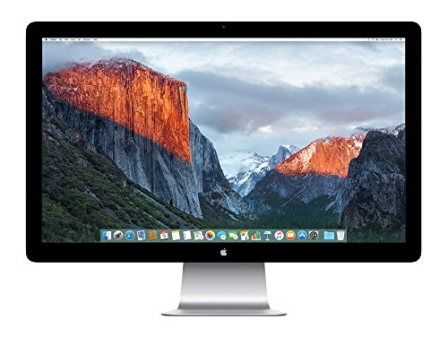 Apple MC914ZM/B Thunderbolt Display 68,6 cm (27 Zoll) LED Monitor (Thunderbolt, 12ms Reaktionszeit) (Display Cinema Thunderbolt Apple)