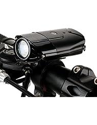 MOREZONE Fahrradlicht USB Wiederaufladbare LED Fahrradvorderlicht Fahradbeleuchtung Fahrradlampen 300 Lumen Super Hell für Sicheres Radfahren Spritzwassergeschützt