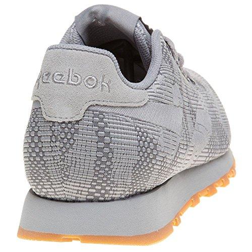 Extremadamente Reebok Classic Runner Jacquard Uomo Sneaker Grigio Grigio Cómoda Precio Barato rV0XS