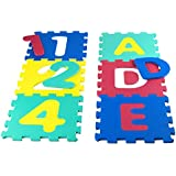 Color Baby - Alfombra de goma eva con números, 6 piezas (40678)