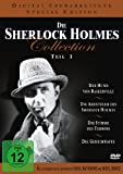 Die Sherlock Holmes Collection 1 ( Der Hund von Baskerville / Die Abenteuer des Sherlock Holmes / Die Stimme des Terrors / Die Geheimwaffe ) [4 DVDs]