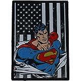 C & D VISIONARY tela patch-patriotic de DC Comics Superman vertical para X 7,62cm