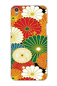 SRS Design Of Flowers 3D Back Cover for Oppo F1 Plus