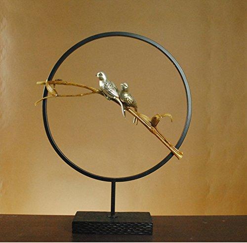 la-configurazione-e-semplice-e-moderno-loft-uccello-astratto-dei-mestieri-di-bambu-moderno-minimalis