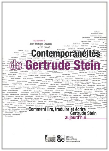 Contemporanits de Gertrude Stein