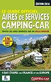 Le Guide Officiel Aires de Services Camping-car 2018