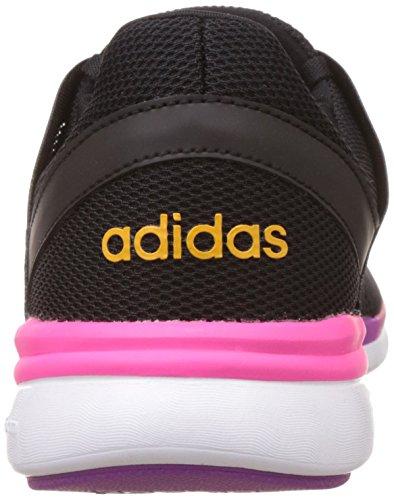 adidas Damen Cloudfoam Xpression W Turnschuhe Black (Negbas / Negbas / Rosimp)