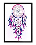 #4: Kreative Lab Dream Catcher Matte Poster for Home Decor, Wall Poster, Posters for Boys Room/Wall/Girls Room Size 12x18 inches Matte Print [HD Bright Art Print, Medium Size, Rolled Poster]