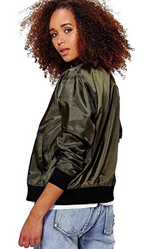 Bomber Mocha Femmes Freya Basic Jacket Moka