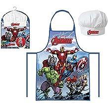 Beta Service el51465Marvel Avengers Chef Set, 2piezas, plástico, multicolor, 15x 25x 12cm