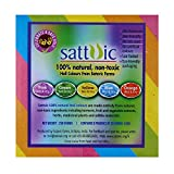 Satavic Farms 100% Natural Holi Color powder (Gulal) - Pack of 4 assorted colour boxes - 5 colours - Herbal, Skin-safe & non-toxic - very suitable for gifting