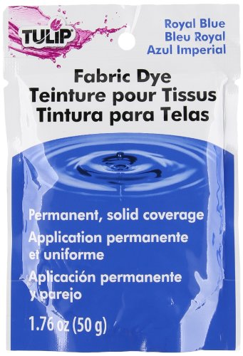 Tulip 26586 1 Paquet de Teinture Permanente 50 g pour Tissu Bleu Royal