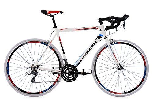 KS Cycling Herren Rennrad Velocity RH 53 cm Fahrrad, Weiß, 28