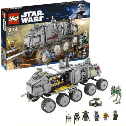 LEGO Star Wars 8098 - Clone Turbo Tank - Legos 2010 Wars Star