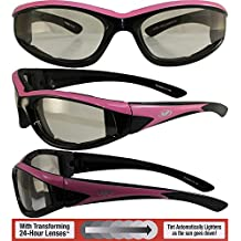 Global Vision Hawkeye Lunettes de soleil Rouge ugPxkAo3uW