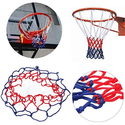 Mayyou Basketball Net, Hoop Net geeignet für Erwachsene und Kinder fficial Größe (45 Zentimeter)