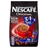 Nescaf? 3 In 1 Original Strong 18 g 10 Sachets (Pack of 9, Total 90 Sachets)
