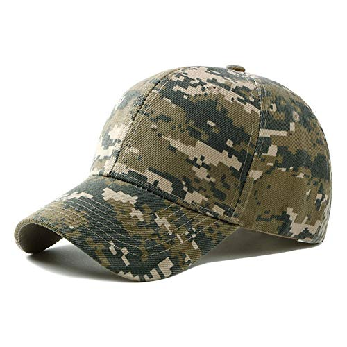 HUOLIMAO Sommer Herren Armee Tarnung Camo Cap Cadet Casquette Wüste Camo Hut Baseball Cap Jagd Angeln Blank Desert Hat -