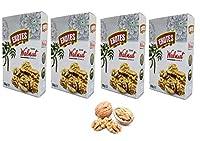 Exotes Natural Light Broken Kashmiri Walnuts 500g Premium Test (Pack of 2X250Grams)