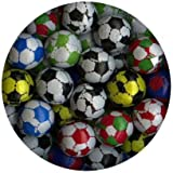 Chocolate Candy Solid Footballs, foil wrapped, 40 supplied