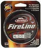 Berkley Fireline FUSED Beading Thread 4lb 300yd Braided SMOKE Line FL3004-42