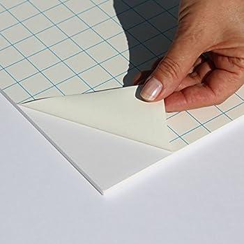 Fixmount Selbstklebender Karton 2,5mm stark aufziehen Klebekarton aufkleben Bastelkarton 60x70cm Selbstklebende Oberfl/äche R/ückwand Tr/ägerkarton Puzzlekarton Kaschierkarton