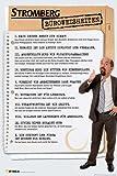 Stromberg - Büroweisheiten - Christoph Maria Herbst Comedy Fun TV Serie Poster - Grösse 61x91,5 cm + 1 Ü-Poster der Grösse 61x91,5cm