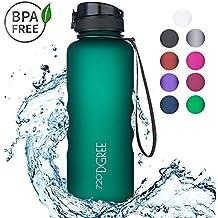 720°DGREE Botella de Agua uberBottle – 1,5 litros, 1500ml, Gris