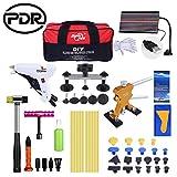PDR Dellen Kit 49PCS Automatische Body Repair entfernen Werkzeug Kits Dent Lifter Brücke Kleber Abzieher-Kits mit Werkzeugtasche