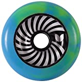 Blazer Pro 100mm Metal Core Vertigo Swirl Wheel - Green / Blue