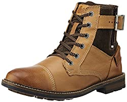 Lee Cooper Mens Tan Leather Boots - 10 UK