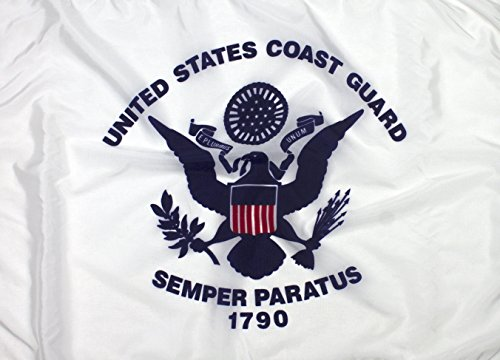 New. US Coast Guard Flagge - Eine Superior Qualität Nylon Flagge - 100% Made in USA -