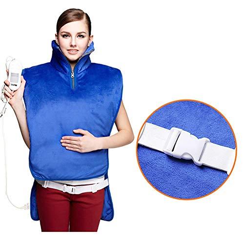 AMHUUI Elektrische Moxibustion Heizung, Heizweste Für Rücken Schulter Brust Wärmetherapie Wrap Zur Linderung Von Körperschmerzen Pad Hals Und Schnelle Linderung -
