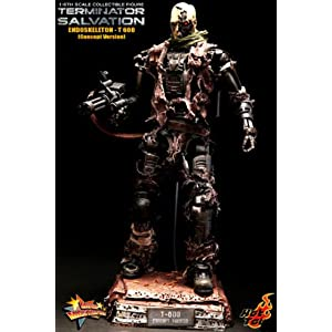 Movie Masterpiece Terminator 4 1/6 scale figure T-600 end skeleton concept version (japan import)