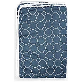 Divine Casa Ocean Microfibre Single Blanket, Abstract-Dark Blue