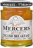 Mercers English Breakfast Marmalade 340 g (Pack of 3)