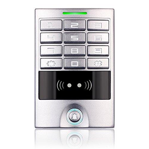 Access Control Maschine Home Eintrag Sicherheit Outdoor Wasserdicht RFID Hintergrundbeleuchtung Tastatur Reader Metall Panel -