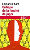 Critique de la faculté de juger - Gallimard - 01/01/1989