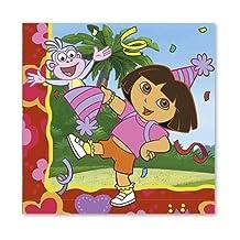 Procos Dora'S 2Ply Napkin Set Of 20 - Multi Color
